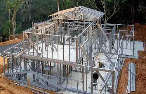 steel frame casa modular