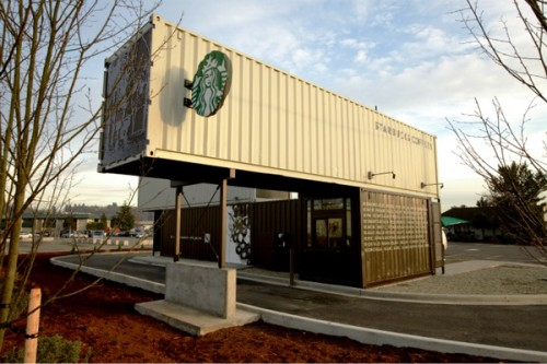 Starbucks contenedores